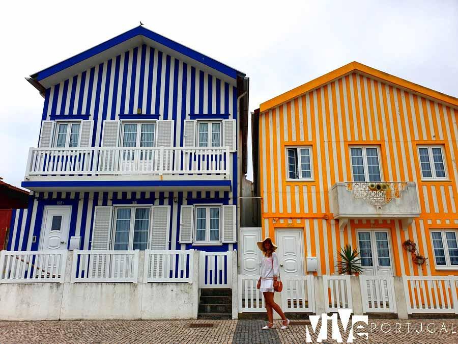 Casas típicas de Costa Nova