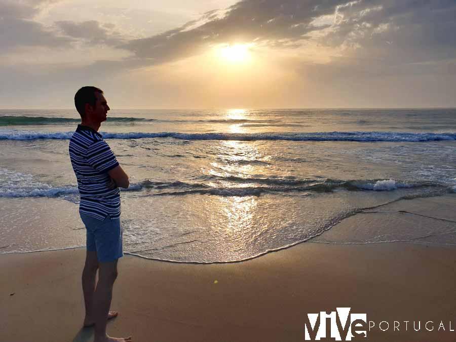 Playa de Costa Nova guía de Aveiro