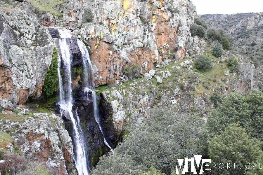 Cascada de la Faia da Água Alta