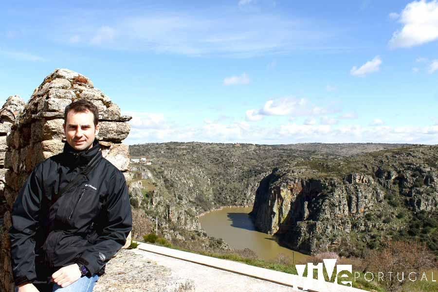 Mirador del casco histórico de Miranda do Douro