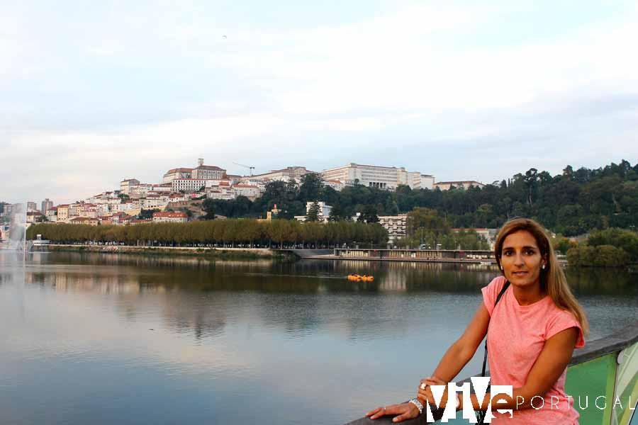 Pasarela peatonal del río Mondego que visitar en Coímbra