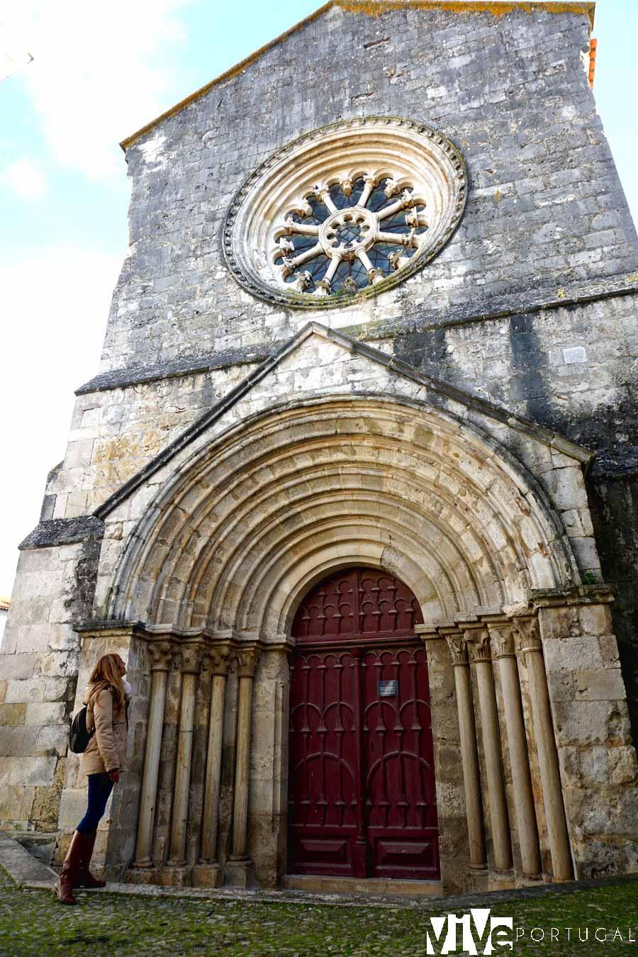 Iglesia románica de San Joao de Alporao que ver en Santarém