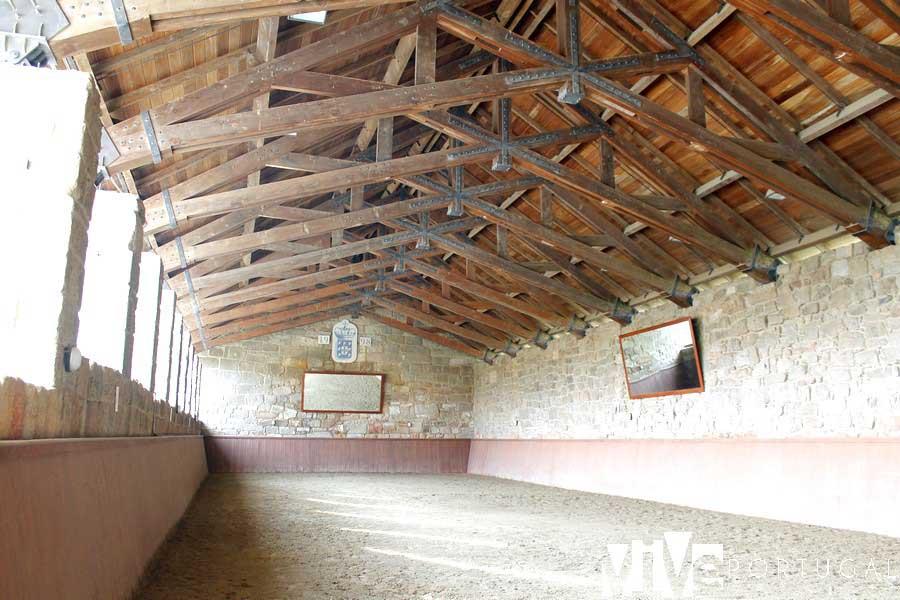 Interior del Picadero del Rey