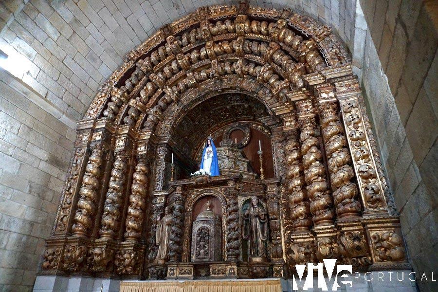 Retablo del monasterio de Santa María de Aguiar qué ver en Figueira de Castelo Rodrigo