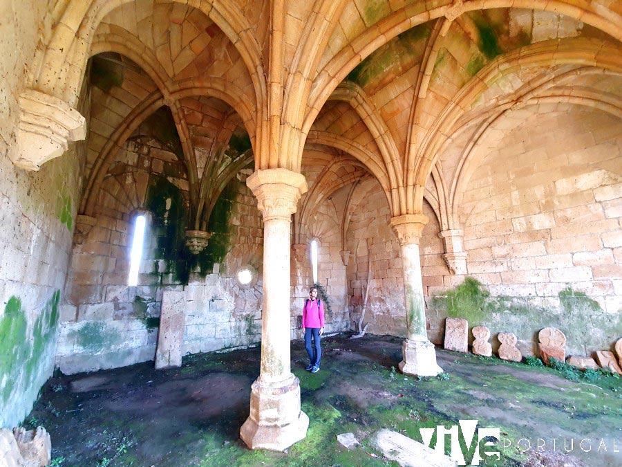 Sala Capitular del monasterio de Santa María de Aguiar qué ver en Figueira de Castelo Rodrigo