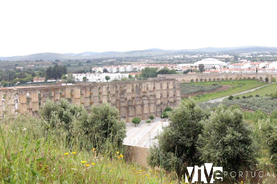 Acueducto de Amoreira qué ver en Elvas