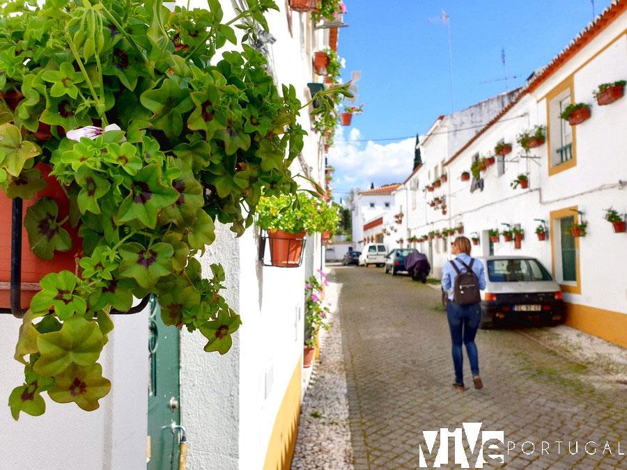 Calle típica de Vila Viçosa