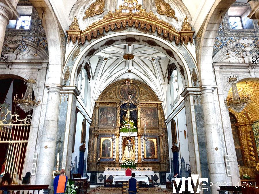 Interior del santuário de Nossa Sra. da Conceição
