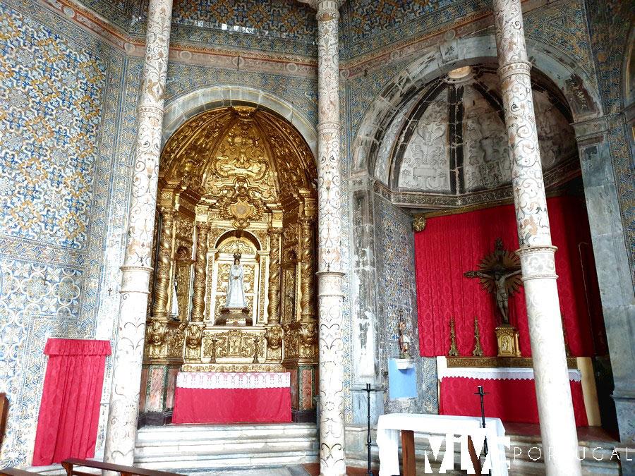 Interior de la igreja das Dominicas qué ver en Elvas