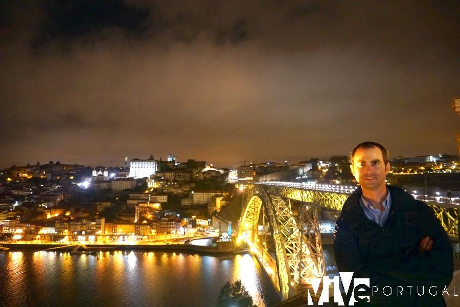 Vista desde el jardim do Morro miradores de Oporto