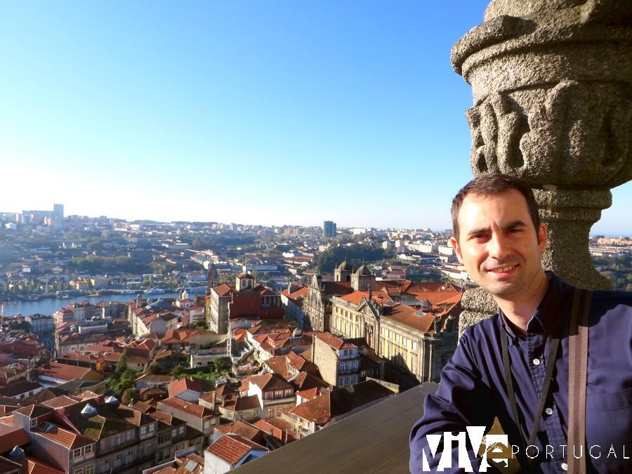 Vistas desde la torre dos Clérigos miradores de Oporto