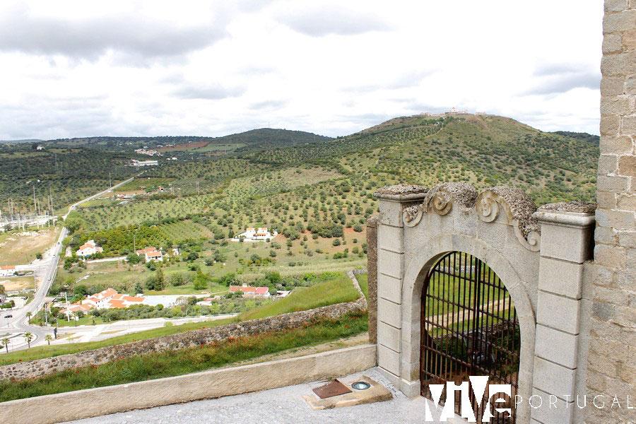 Vistas desde el Castillo de Elvas