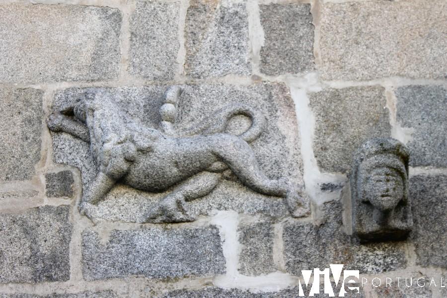 Detalle de la Casa do Gato Preto
