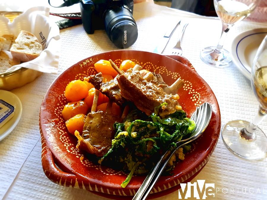 Guiso de jabalí del restaurante São Marcos