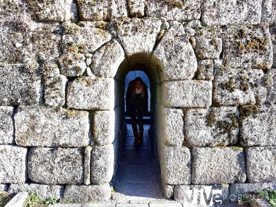 Postigo de la muralla de Trancoso Portugal