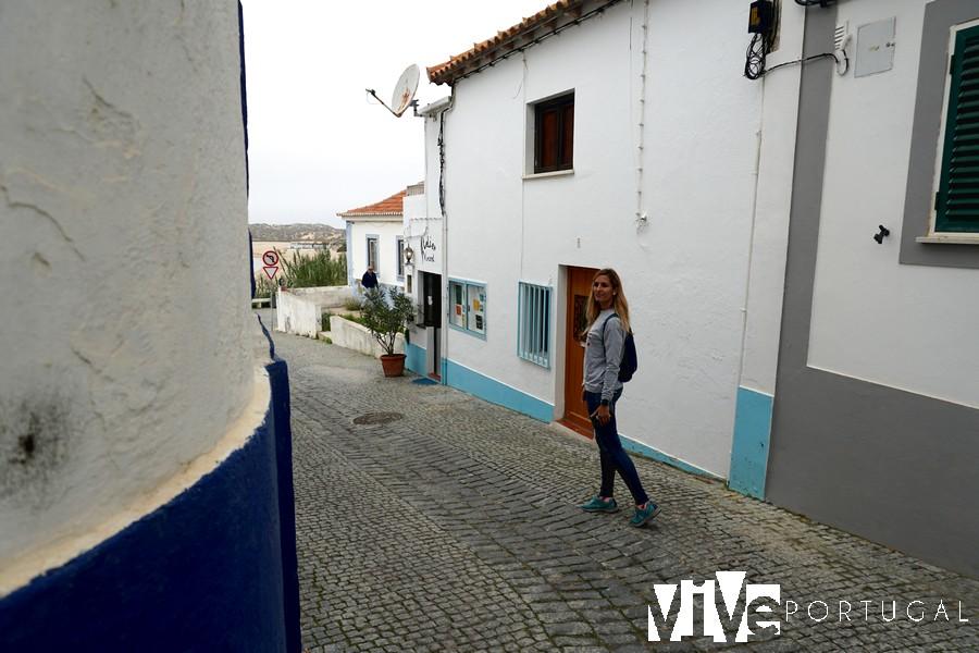 Una calle de Vila Nova de Milfontes