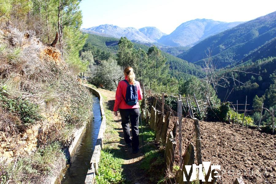Ruta de la levada entre Cabeça y Loriga