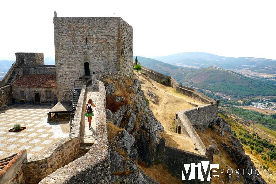 Interior del Castelo de Marvão