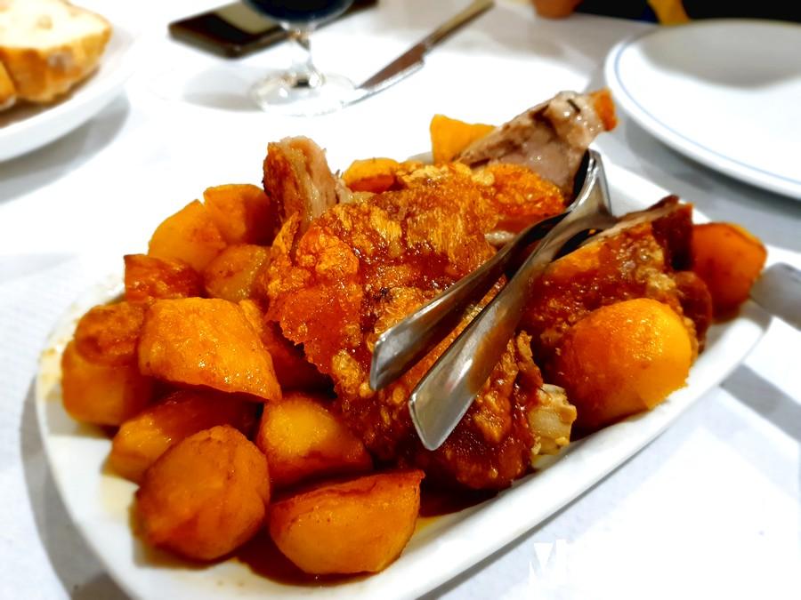 Pernil del restaurante Xiconhoca