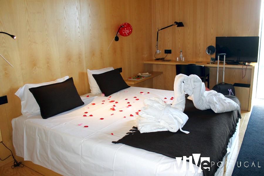 Nuestra habitación en Cró Hotel Rural